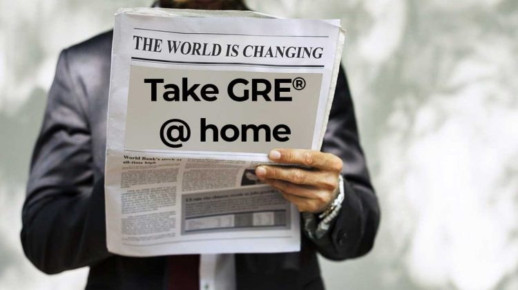 GRE General Test at Home